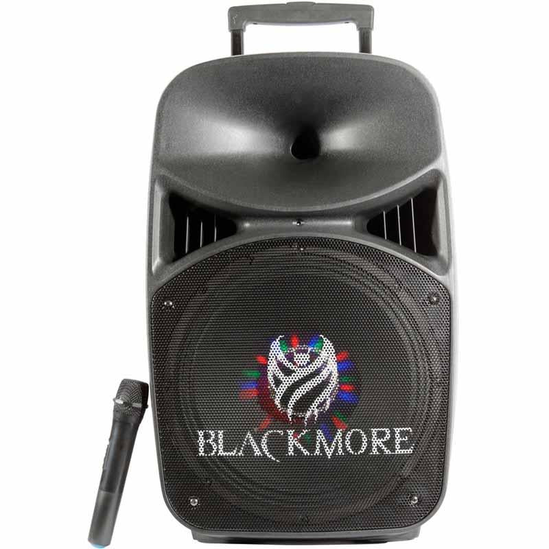 Blackmore Bocina Amplificada Recargable 1000W, Bluetooth ,  Usb , Sd, Radio Fm