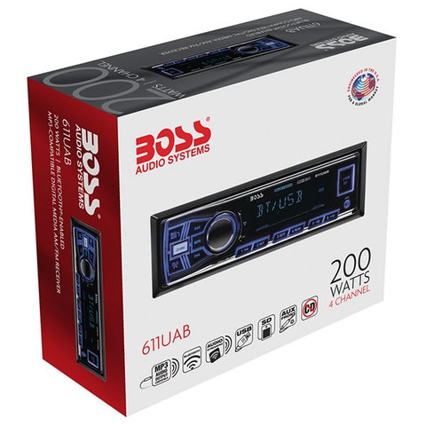 BOSS AUTOESTEREO BLUETOOTH /RADIO FM-AM /USB/AUX/SD/BL