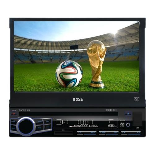 "Boss Stereo Con Pantalla 7"" Touch, Dvd Multiregion, Usb"