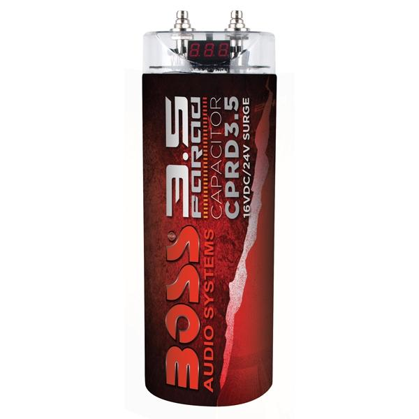 Boss Capacitor Rojo De 3.5 Faradios Digital