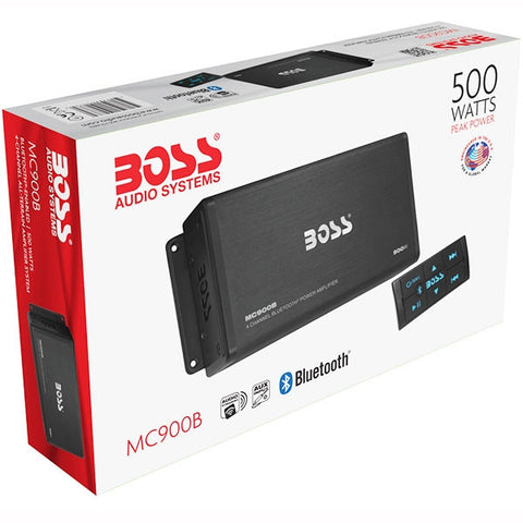 BOSS AMPLIFICADOR 4CH C/BLUETOOTH 500 WATTS