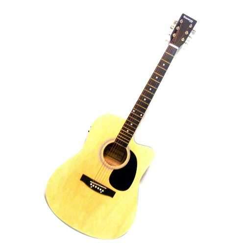 Bridgercraft Guitarra Electroacustica Varios Colores