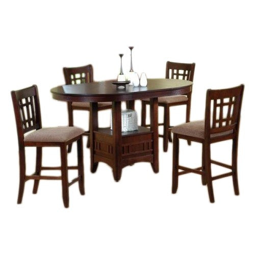 Crown Mark Comedor Alto C/4 Sillas