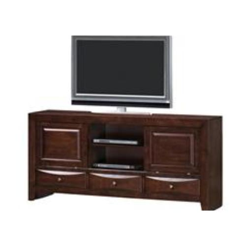 Crown Mueble Madera Tv Bk