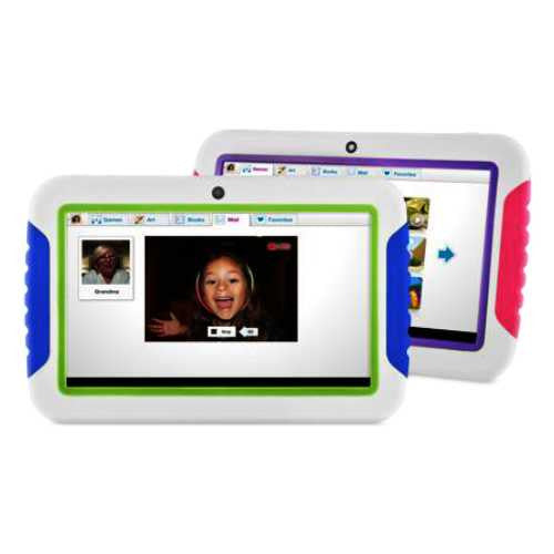 zx - Ematic Tablet EMATIC  7 '' Infantil- Educativa, 4 GB, Camara, Wifi, Dual Camara ''