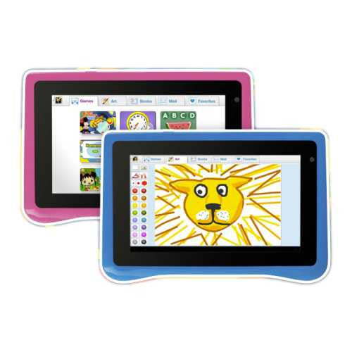 "zx - EMATIC - TABLETA 7"" - ANDROID  4.0 - EDUCATIVA - RESISTENTE - DUALCAM - HDMI - WIFI"""""""