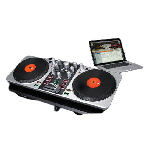 Tornamesa Digital, Controlador, Gemini, Firstmix, Usb Con Virtual Dj