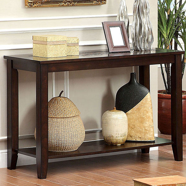 IMPORT SOFA TABLE CHERRY C/FOR