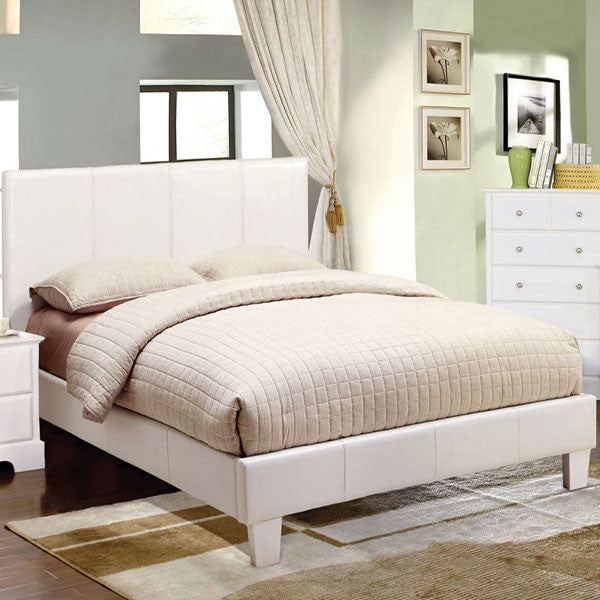 IMPORT CAMA TAMAÑO MATRIMONIAL FULL COLOR BLANCO
