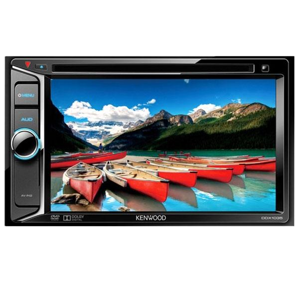 "Kenwood Autoestereo 6.2"" Doble Din Dvd Multiregion"