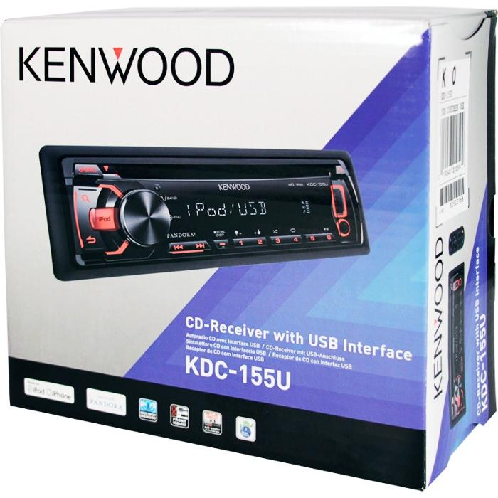 Kenwood Autoestereo Reproductor De Cd-Mp3, Usb, Auxiliar, Radio Fm-Am ,  Incluye Control Remoto