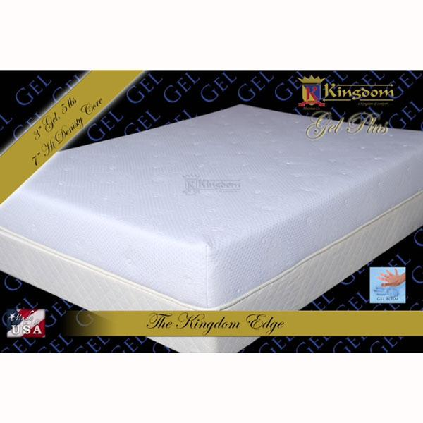 Kingdom Colchon Twin Foam Con Gel