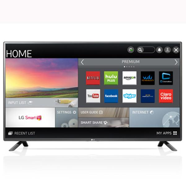 "Lg Smart Tv 55"" Led 1080p  120Hz,  Wifi- You Tube-Netflix , Hdmi, Usb, (X)"