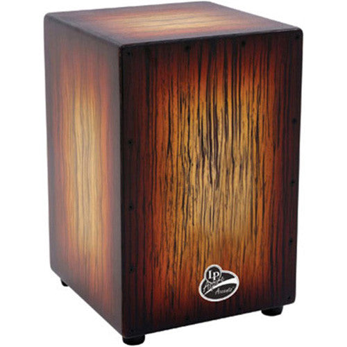 Cajon, Latin Percussion, LPA1332SBS con Acentos de Dos Colores