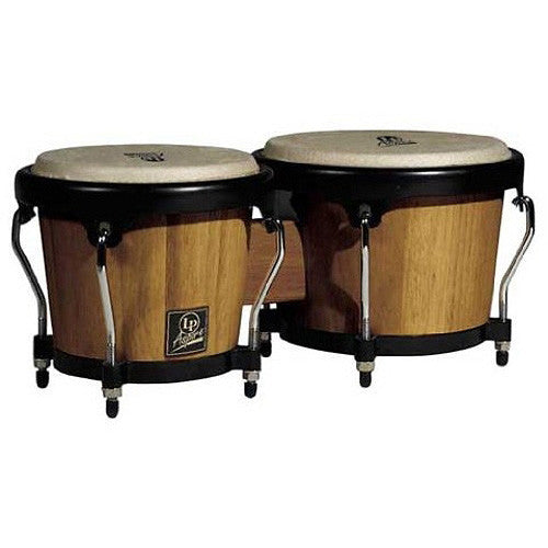 Bongos, Latin Percussion, Series Aspire de Madera Oscura
