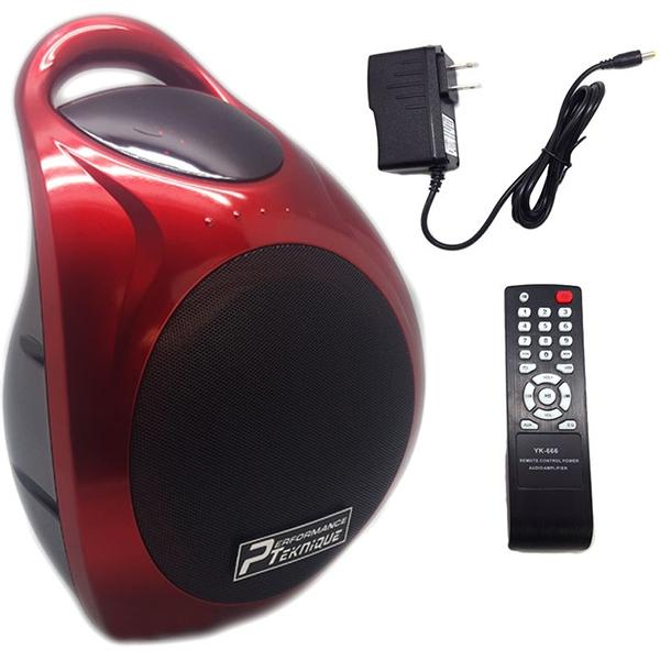 "Performance  Bocina Portable De 6"" Recargable Radio Fm,  Usb ,  Sd ,  Aux ,  Bluetooth"