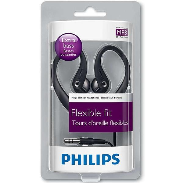 Philips Audifonos Ajustables Con Clip 3.5 Mm , Compatible Con Varios Dispositivos