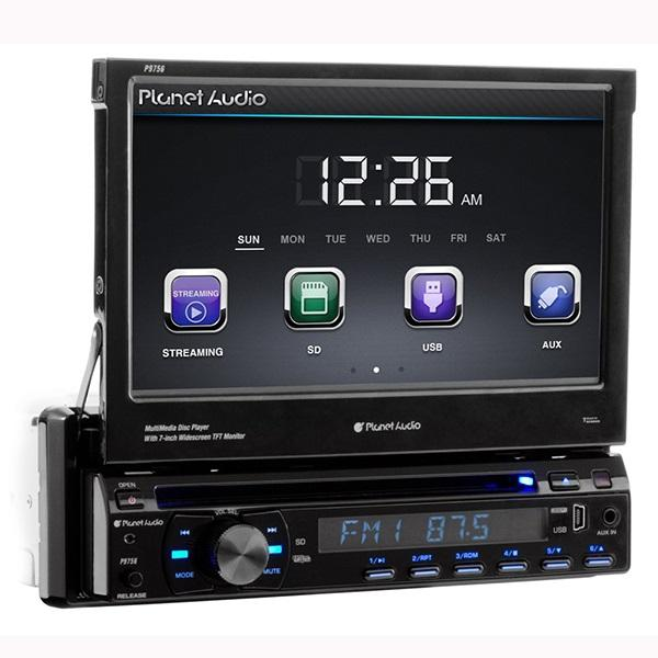 Planet Audio Autoestereo, Dvd Multiregion, Usb, Sd, Auxiliar,