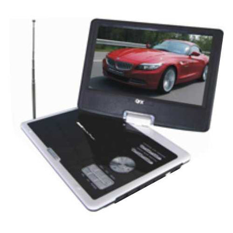 "zx- QUANTUM - DVD Y TV PORTATIL 9"" - PARA CASA Y CARRO"