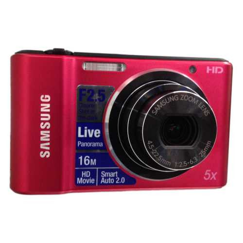 SAMSUNG CAMARA DIGITAL, DIFERENTES COLORES, 16.1 MP, HD, GRABA VIDEO C/AUDIO