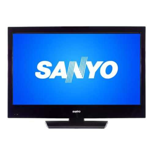 "zx- SANYO TV 32"" LCD CON DVD- 720P 60HZ-DIGITAL / (X)"