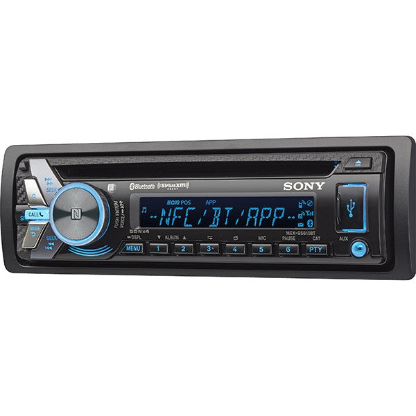 SONY AUTOESTEREO BLUETOOTH / MANOS LIBRES/ RADIO AM-FM/ CD/MP3/USB/AUX/IPOD/