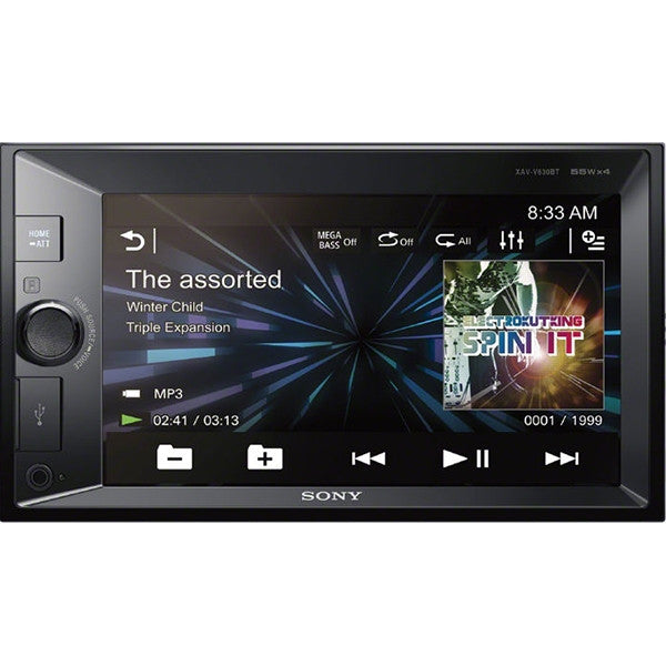 SONY AUTOESTEREO PANTALLA TOUCH /BLUETOOTH / MANOS LIBRES / CD / DVD /MP3/USB /AUX