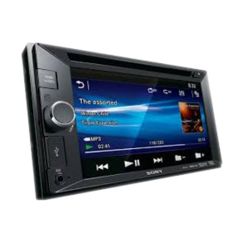 "SONY STEREO DOBLE DIN CON PANTALLA 6.2"" TOUCH IPOD/U"