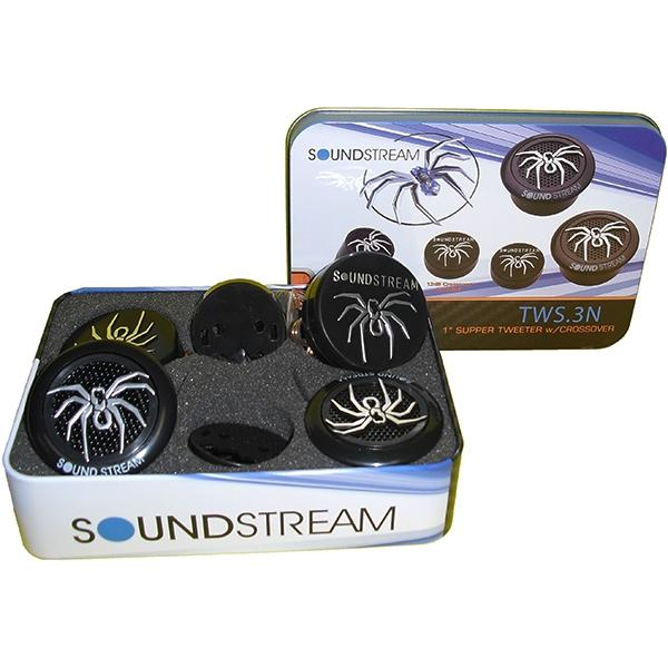 Sound Stream Tweeters Para Carro De 110 Watts