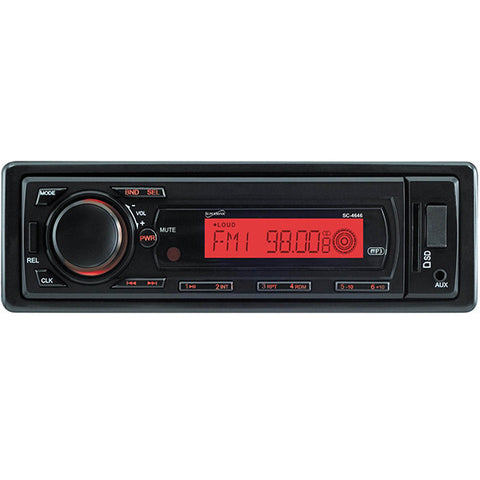 SUPERSONIC STEREO FM MP3 USB, CON CONTROL Y CARITA DESMONTABLE