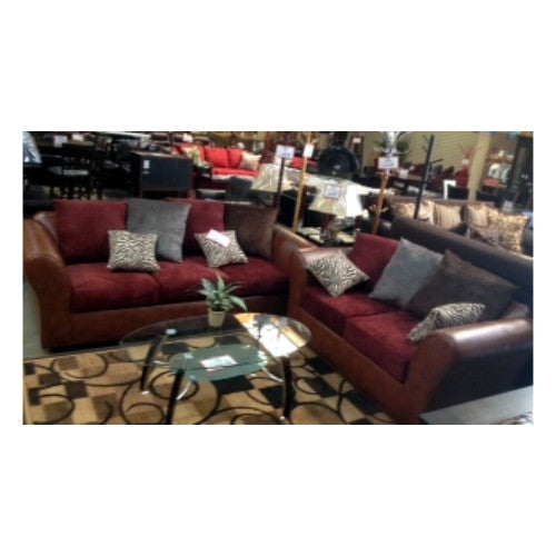 WEST LOVESEAT Y SOFA COLOR BUR