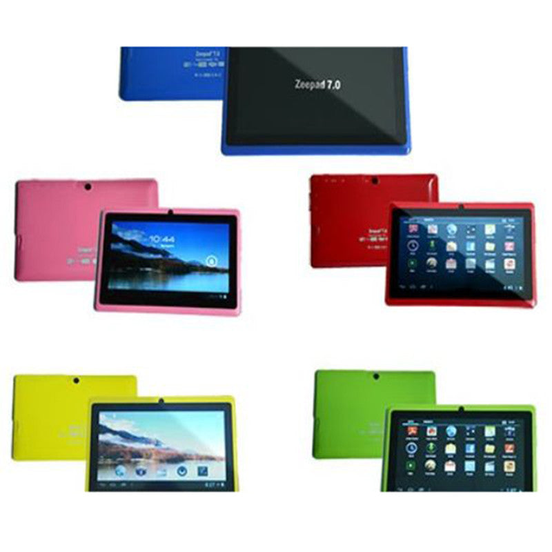 "ZEEPAD TABLET 7"" CAPACITIVA DUAL CORE ANDROID 4.4"