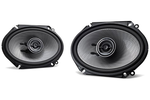 "Kenwood KFC-D681C 6x8"" Oval Custom Fit 2-way 2 Speaker"