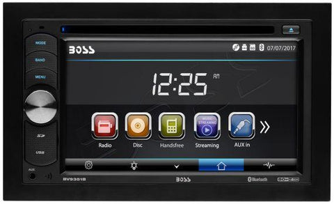 "BOSS BVB9351RC Double-DIN, DVD Player 6.2"" Touchscreen Bluetooth"