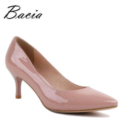 Bacia Full Season Daily Women Genuine Leather Pumps