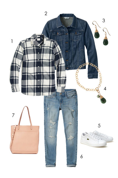 Casual and Chic Fall Style with Denim