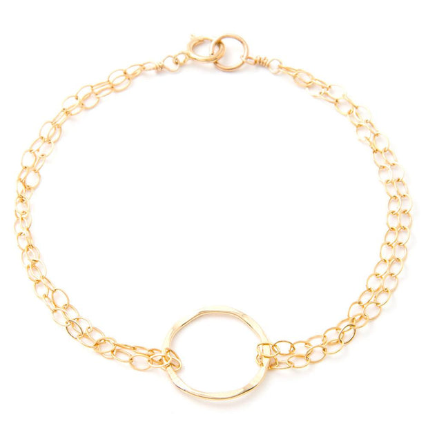 Bracelet Unity Circle Bracelet 14k gold filled Lisa Ing