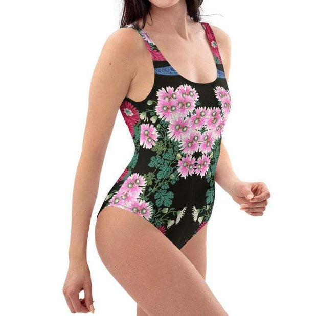 Chrysanthemums Bathing Suit Lisa Ing