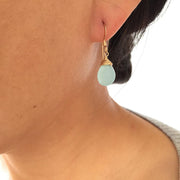 Earrings Chalcedony Teardrop Earrings Lisa Ing