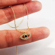 Necklace Protect Me Evil Eye Amulet Necklace Lisa Ing