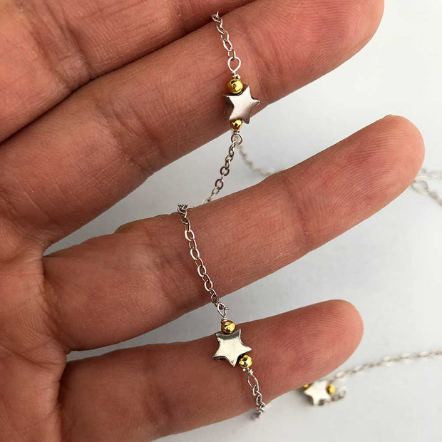 Necklace Thank Your Lucky Stars Charm Necklace Lisa Ing