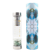 ReplenishING Crystal Water Bottle - Prosperity and Growth Lisa Ing