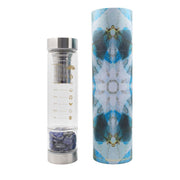 ReplenishING Crystal Water Bottle - Wisdom and Truth Lisa Ing