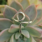 Ring Ankh Ring 7 / sterling silver Lisa Ing