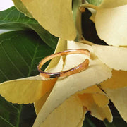 Ring Ensō Open Circle Ring 5 / Rose Gold Filled Lisa Ing
