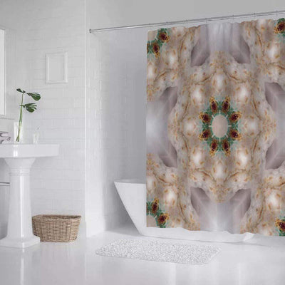 shower curtain Christmas Morning Shower Curtain Lisa Ing
