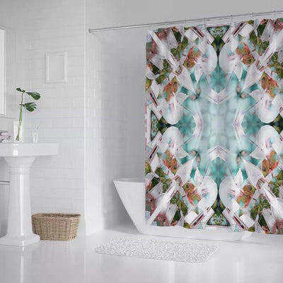 shower curtain Teal Springs Shower Curtain Lisa Ing
