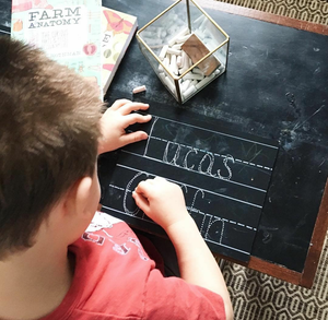 Step 1: Personalized 8x10 Trace-n-Erase™ Chalkboard