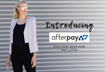 Shop Now. Pay Later. Angel Maternity Now Offering Afterpay.
