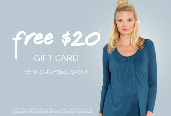 Free $20 Gift Card With Every $100 Spent